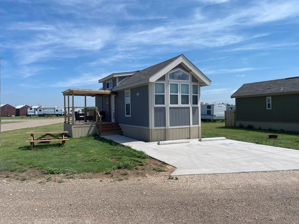 Stay in our cabins near Lubbock, TX