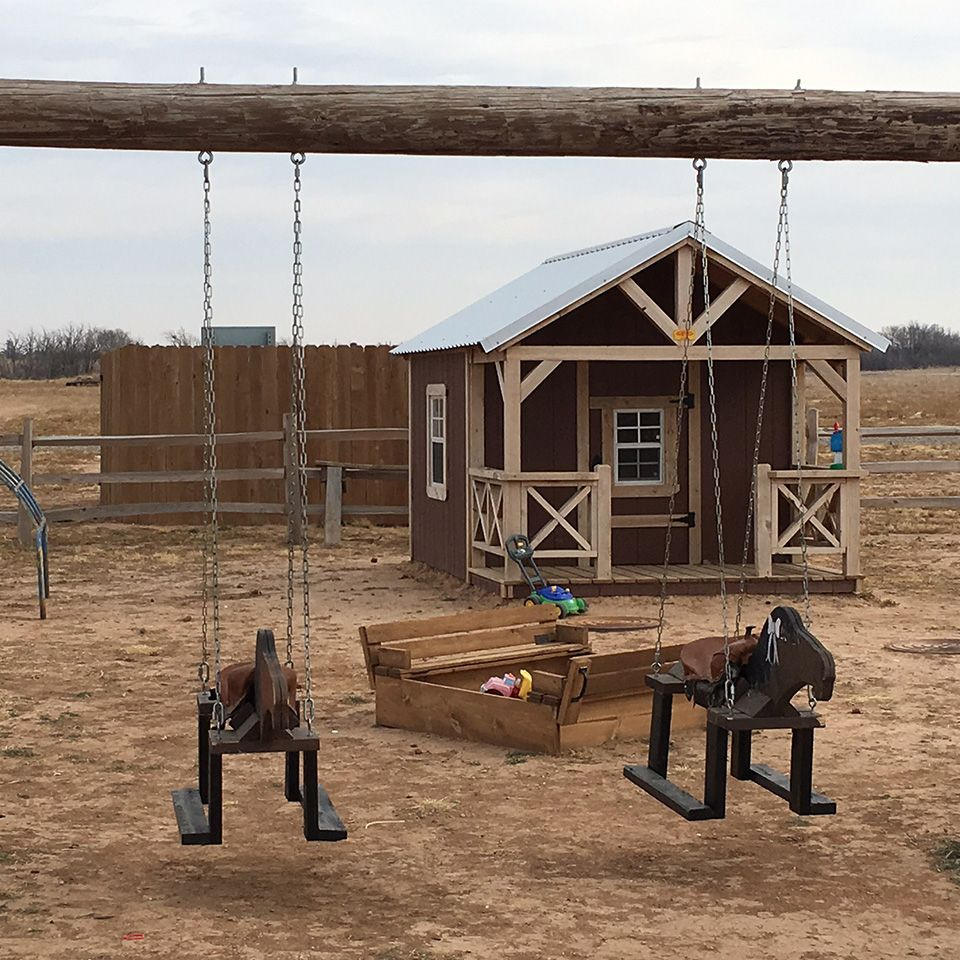 Enjoy the playground at our family-friendly RV park in Plainview, TX