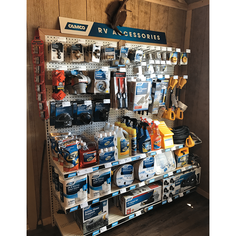 Our Plainview, TX RV Park store has all of the RV supplies you'll need